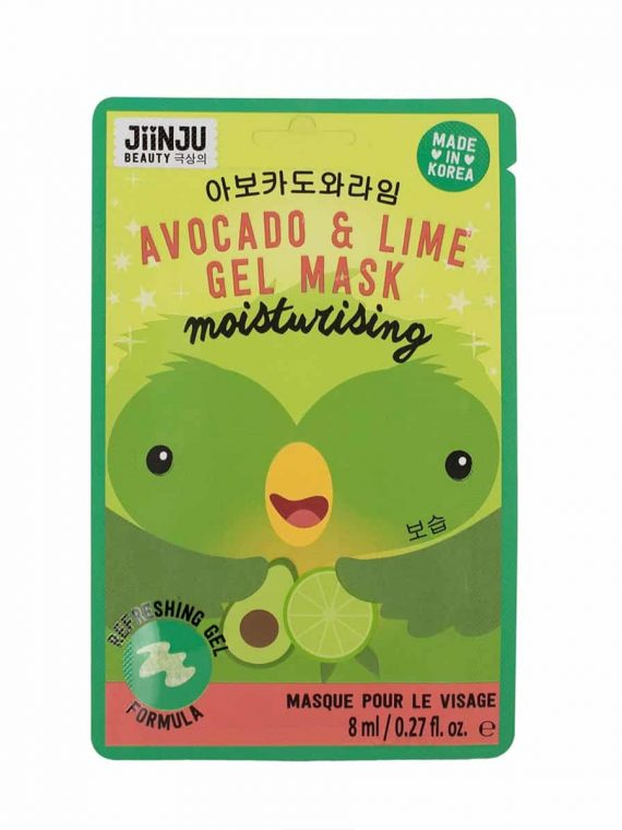 Koreosity_jiinju-beauty_avocado-lime-gel-mask_front