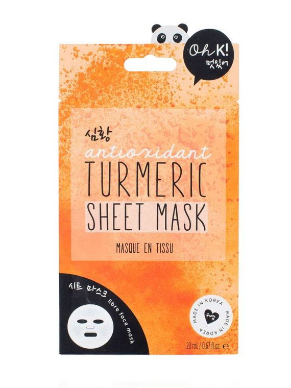 Koreosity_oh-k_antioxidant_turmeric_sheet_mask_front