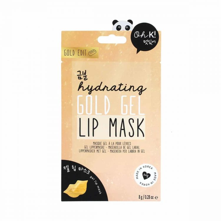 OH K! Hydrating Gold Gel Lip Mask