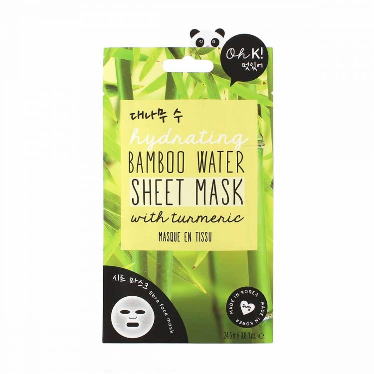 OH K! Hydrating Bamboo Water Sheet Mask