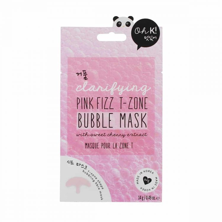 OH K! Clarifying Pink Fizz T-Zone Bubble Mask