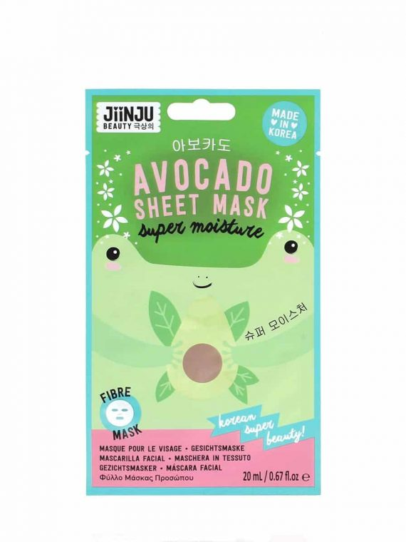 Koreosity_jiinju-beauty_avocado_sheet_mask_front
