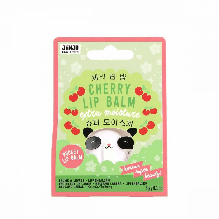 Jiinju beauty cherry lip balm