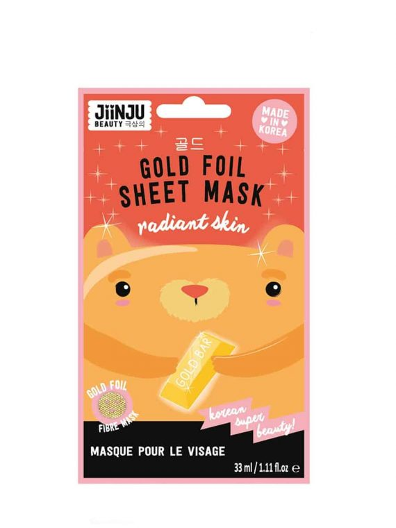 Koreosity_jiinju-beauty_gold_foil_sheet_mask_front