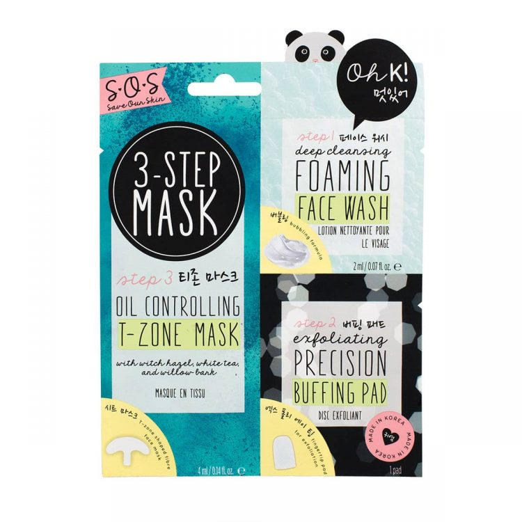 Oh K! Oil Control 3 Step Mask