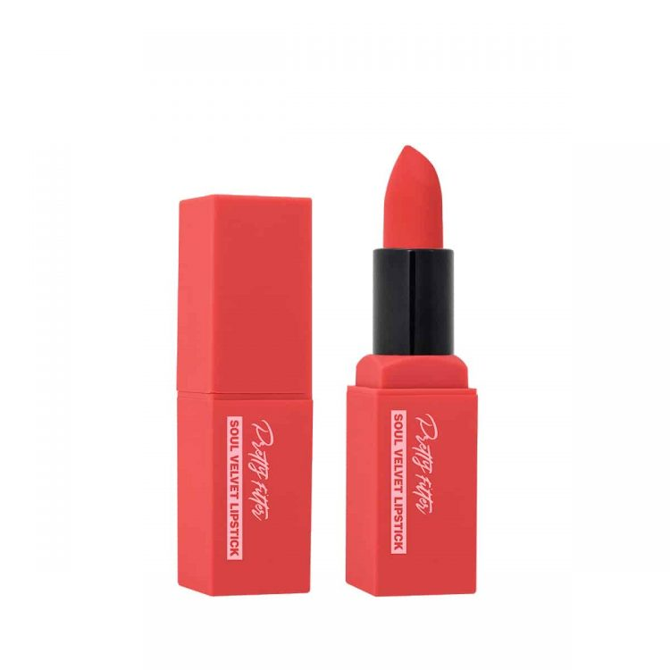 Touch in Sol Soul Velvet Lipstick Gili Coral