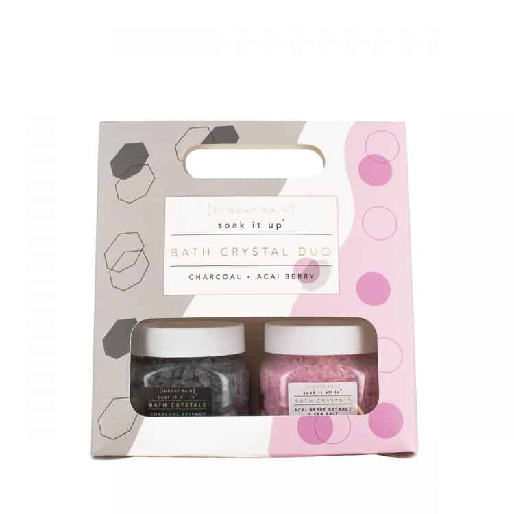 Sunday Rain Bath Crystals Giftset