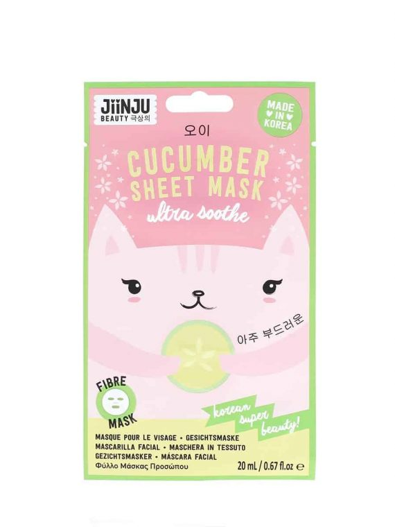 Koreosity_jiinju-beauty_cucumber_sheet_mask_front