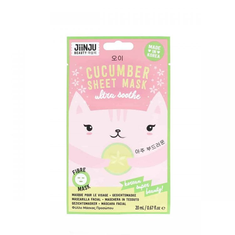 Jiinju Cucumber Sheet Mask