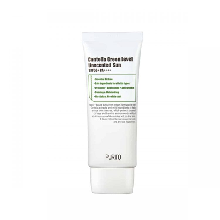 Purito Centella Green Level Unscented Sun SPF50