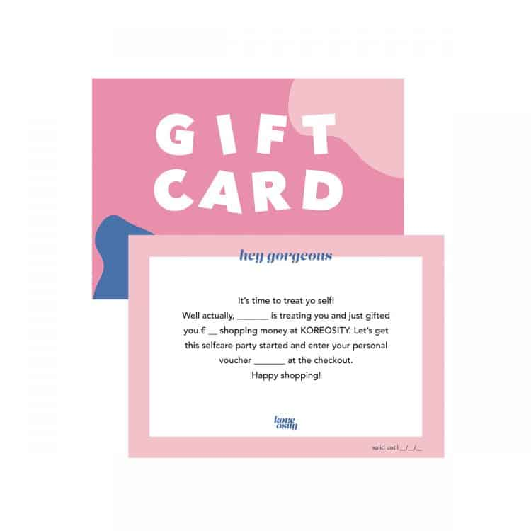 Koreosity Gift Card