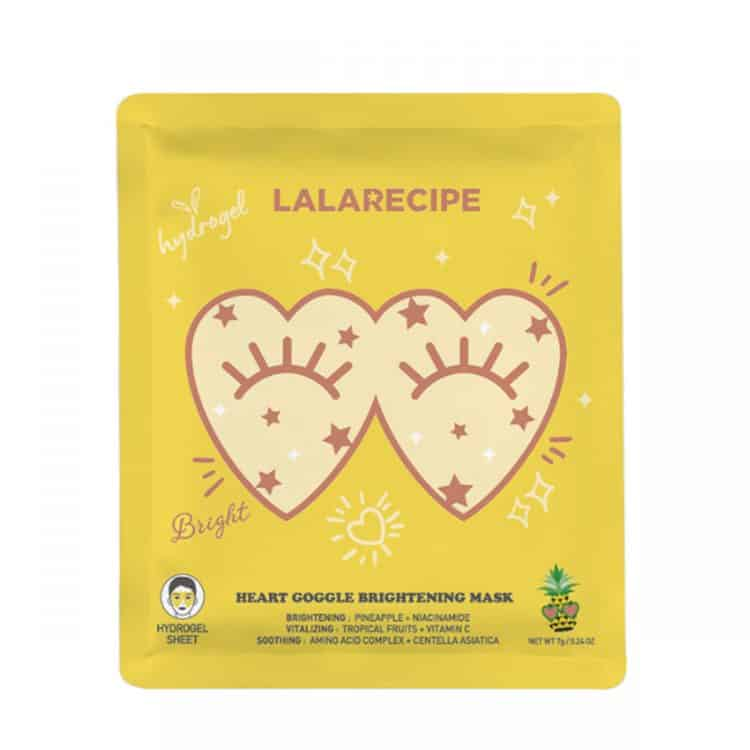 LALARECIPE Heart Goggle Brightening Mask
