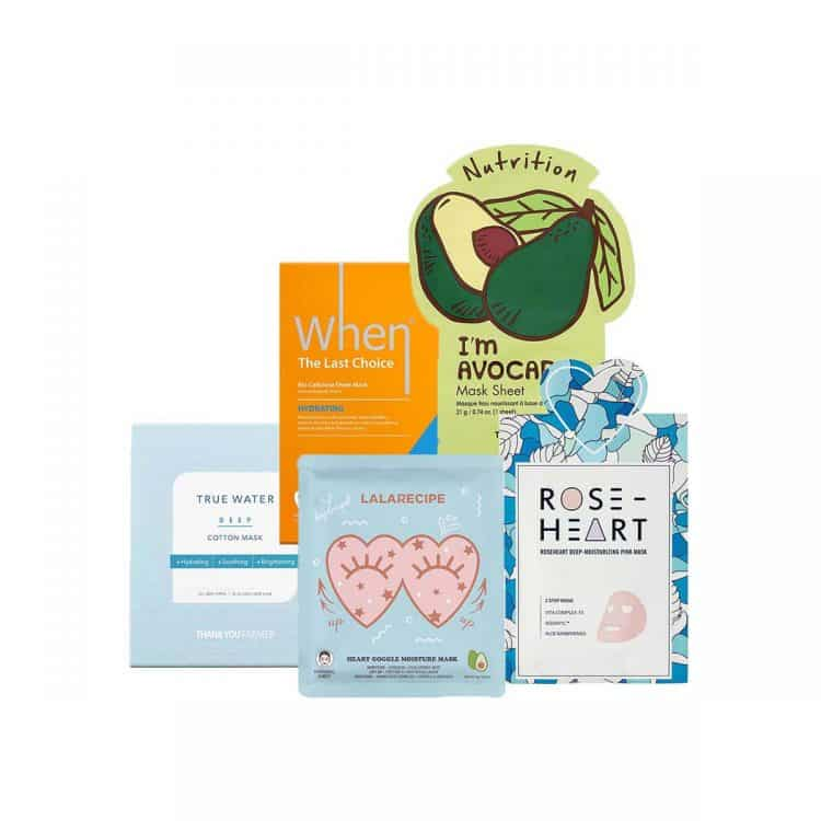 KOREOSITY Mask Box January - Hydration