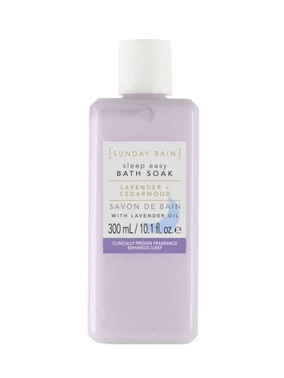 SUNDAY RAIN Lavender Cedarwood Sleep Easy Bath Soak