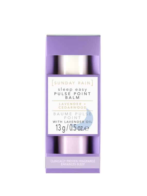 Sunday Rain Lavender Cedarwood Sleep Easy Pulse Point Balm