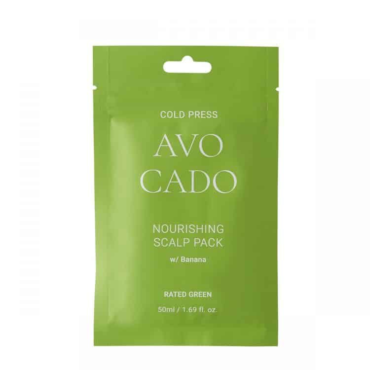 Rated Green Cold Press Avocado Nourishing Scalp Pack